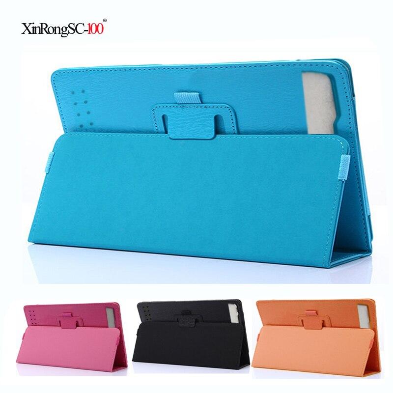Nova 2018 de Alta Qualidade PU Couro Folding Stand Case Capa para Prestigio MultiPad Wize PMT3208 8 polegada Tablet de 3208 3G pc