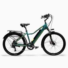 Pard3.0 26 Cal pani rower miejski, 36V 300W rower elektryczny, z wyświetlaczem LCD, pedał wspierana e-bike, 7 prędkości przerzutka