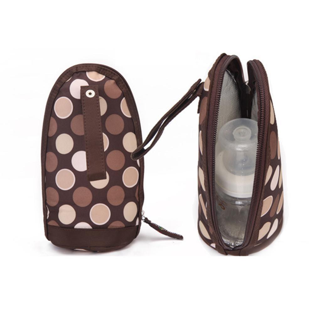 Baby Nursing Bottle Bag Milk Water Warmer Cooler Bag Preserved Feeding Bottle  Portable Insulation Bags for Travel Stroller