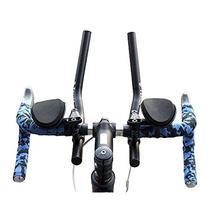 Mounchain VTT route guidon de vélo installer vtt Relaxation reste barre de voltige guidon vélo pièces accessoires bleu