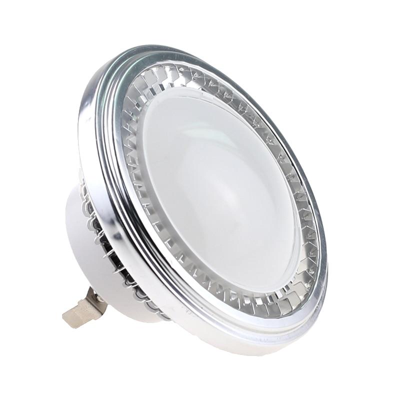 50PCS High Brightnes AR111 12W LED COB Downlight DC12V AR111 LED Bulb Light led lamp Warm Natural Cold White for Indoor lighting