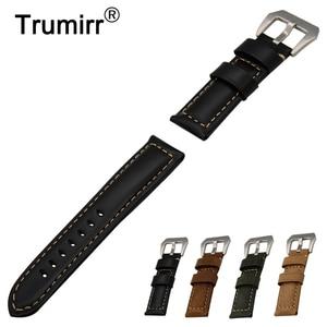 22 мм Телячья натуральная кожа ремешок для часов Timex Weekender Expedition для мужчин и женщин ремешок с пряжкой ремешок браслет на запястье