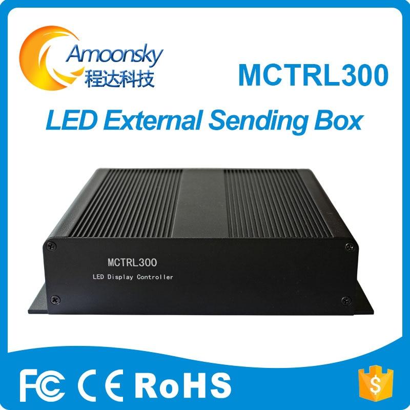 Novastar-صندوق بطاقات إرسال led خارجي MCTRL300 ، صندوق تحكم LED متزامن MSD300 ، عرض خاص 2018