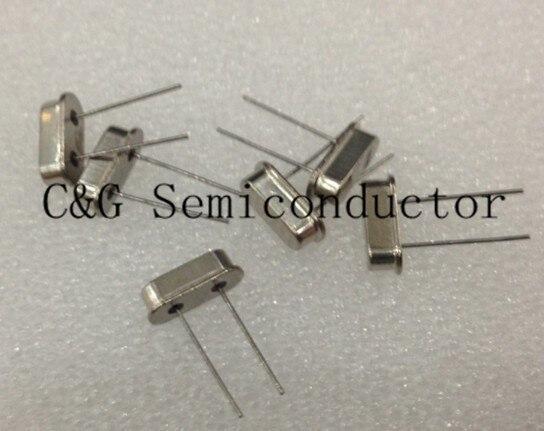 100 Uds HC-49S oscilador pasivo de cristal de cuarzo 49S 20 MHZ, resonador de cristal
