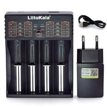Chargeur Liitokala Lii402 Lii202 Lii100 18650 1.2V 3.7V 3.2V AA/AAA 26650 NiMH li-ion 5V 2A chargeur Intelligent prise ue/usa/royaume-uni