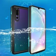Coque de bain extérieure pour Huawei P30 Pro P30 coque de natation IP68 étanche PC + housse de Protection pour Huawei P20 Lite P20 Pro Capa