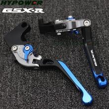 Embrayage de freins de moto   Pour Suzuki GSXR750 1996 1997 1998 1999 2000 2001 2002 2003 Logo Laser () bleu + titane