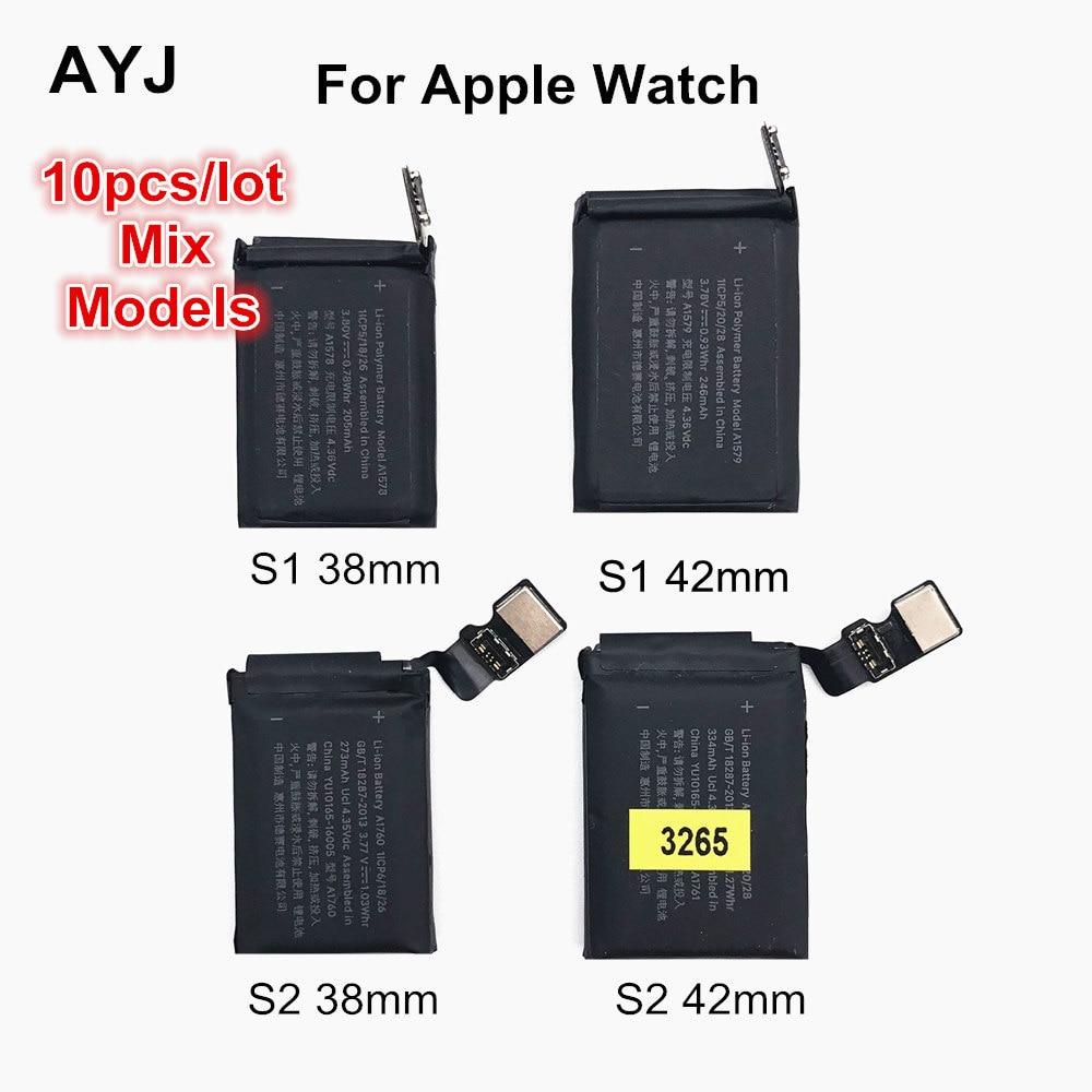 Ayj bateria original para apple assistir série 1 série 2 38mm 42mm substituição real capacidade series1 series2 build-in bateria
