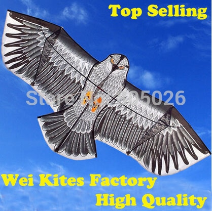 Free Shipping with100m handle Line Outdoor Fun Sports 1.6m Eagle Kite high quality flying higher Big
