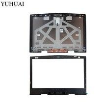 Nouveau couvercle supérieur dordinateur portable LCD/lunette avant LCD pour coque DELL Tobii alienware 17 R4 0PN5XV 05GVP2 A et B