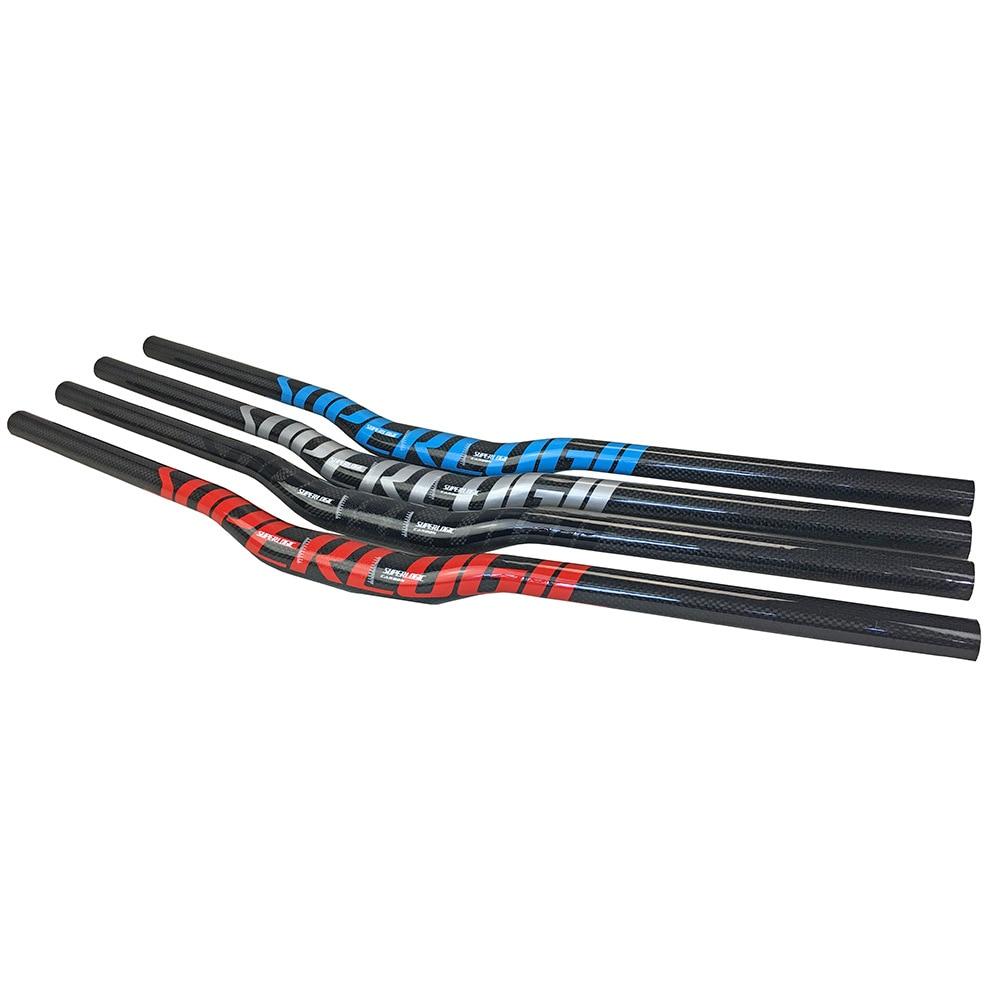 Superlogic 3k углеродный MTB/горный велосипед Бар изгиб Riser руль 31,8*600/620/640/660/680/700/720/740/760 мм