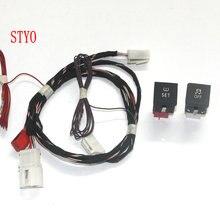 STYO Auto ESP OFF ASR & TPMS Reifendruck Warnsystem Schalter/Taste + Harness Für VW Jetta 6 MK6 VI