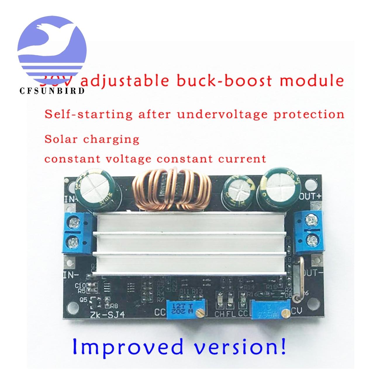 Controlador de carga del cargador Solar de 4,8-30 V del módulo de potencia CC DC automático Boost/Buck convertidor CC CV