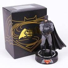 Batman v Superman Dawn of Justice Batman Statue with LED Light PVC Figure Collectible Model Toy 22cm