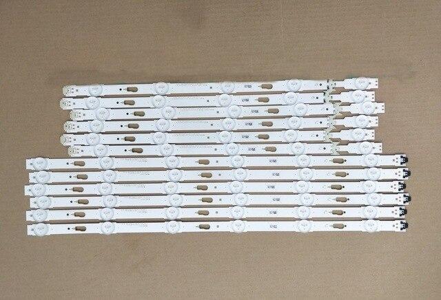 12 قطعة LED الخلفية قطاع ل سام سونغ UE48JU6000 BN96-34793A BN96-34794A S_5U75_48_FL_R6 S_5U75_48_FL_L5 CY-GJ048HGLVCH