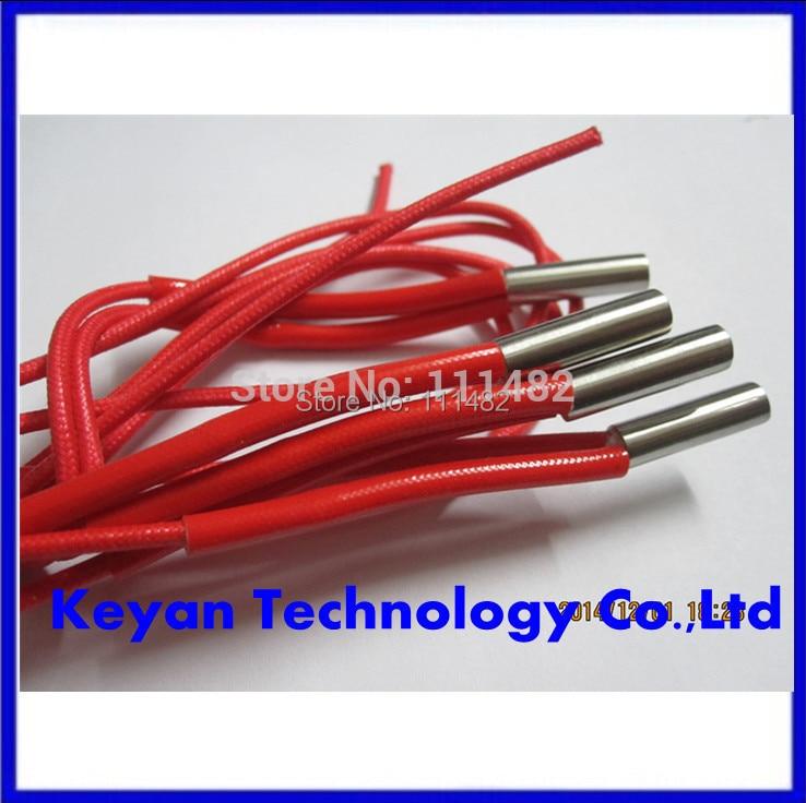 Melhor taxa! 2 pçs/lote 12v40w 12v40w Reprap Aquecedor Cartucho 12 V 40 W Cerâmica para Impressora 3D Prusa Mendel
