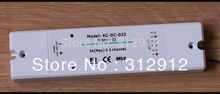 KC-DC-032 (jugar-1); Receptor para KS-RGB-01 rgb obra controlador; DC12-32V entrada salida máxima de 5 A * 3 canales