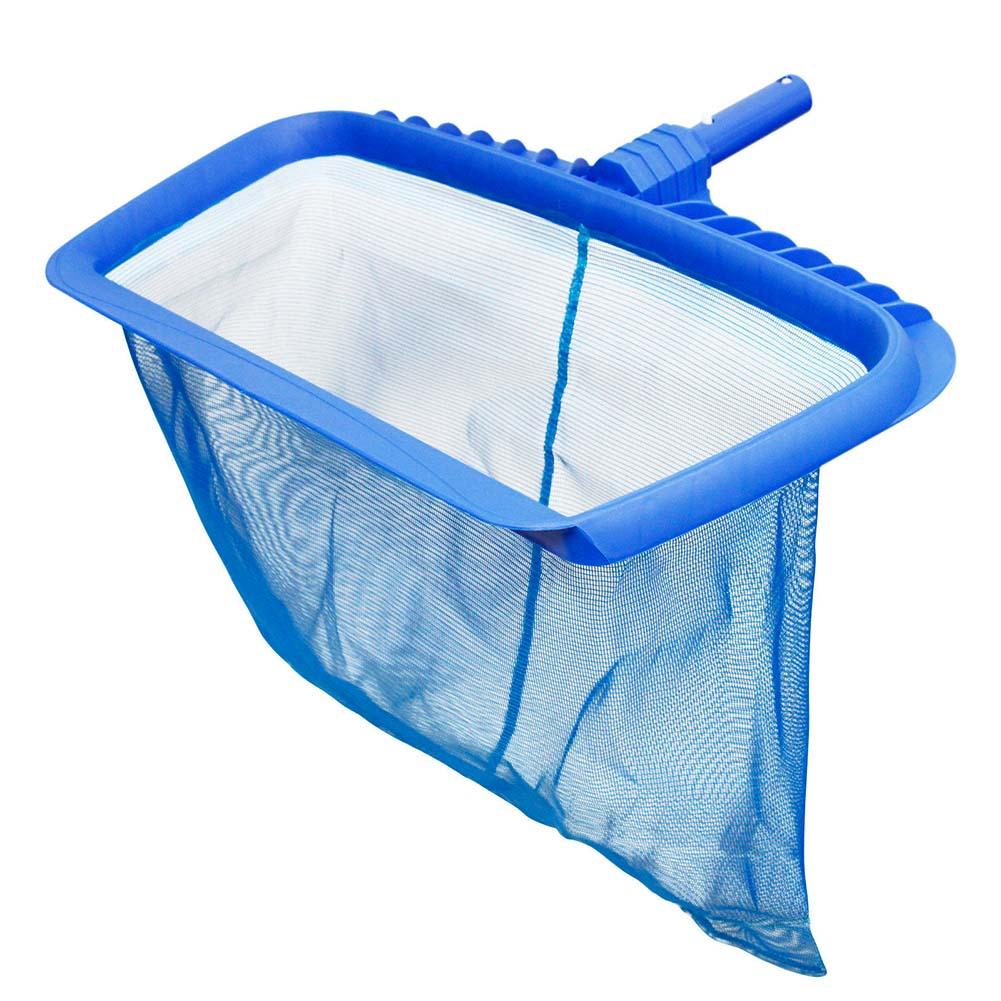 Gran resistencia red de agua profunda piscina rastrillo bolsa cabeza Spas Skimmer estanque piscinas hoja limpieza TB venta