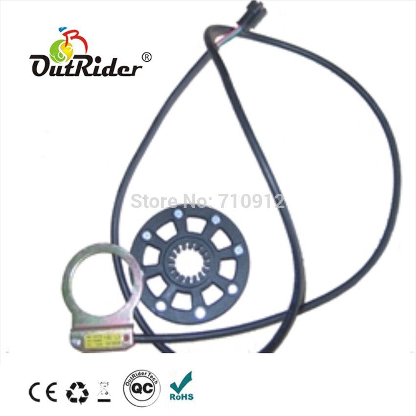4 imanes Sensor de velocidad con cable de longitud 900mm e-bike/bicicleta eléctrica OR05A1