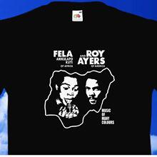 2019 offre spéciale mode 100% coton Fela & Roy ays-musique de nombreuses couleurs t-shirt sweat 2000 noir afrobeat t-shirt