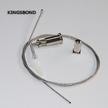 20pcs Suspension wire for hanging aluminum led profile led alunimum housing accessories MOQ20pcs wholesale