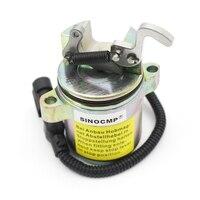 12V fuel stop solenoid 0428-7583 0428-7116 0410-2390 for Deutz 1011 2011 Engine Parts 3 Month Warranty
