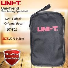 UNI-T czarna oryginalna torba nadaje się do multimetrów i innych multimetrów marki; Seria UT39/UT139/UT61/UT890/UT58/UT33 + itp.