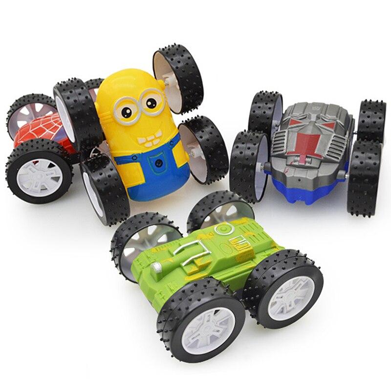 Tibbers 1 stücke Neue Trägheit Taumeln Kipper Tank Fahrzeuge ABS Kunststoff modell Autos 2 Seiten Geburtstag Neujahr Geschenk Spielzeug Für Jungen
