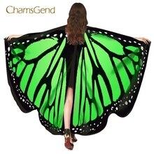 Chamsgend, envío directo, alas de mariposa calientes, chal Pashmina, Poncho de Pixie Ninfa, accesorio para disfraz de mujer, 70925