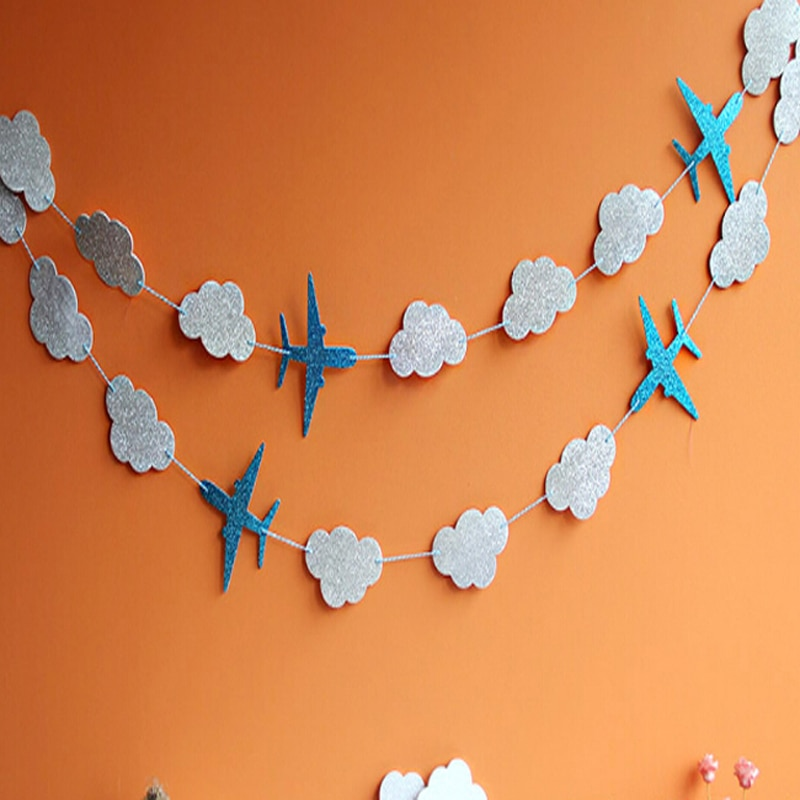 La décoration de fond pour la photo prise par le bébé dessin avion fleurs