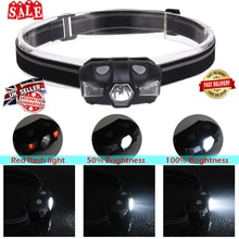 Protable LED Headlamp Running lamp IP67 Waterproof LED light Safe Children LED headlamp Sporting Headlamp D40