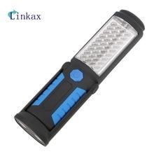 Portable 36 + 5 lampe de poche LED Super lumineux Mini stylo poche lampe de travail ABS lumières aimant torche puce batterie puissance Flash