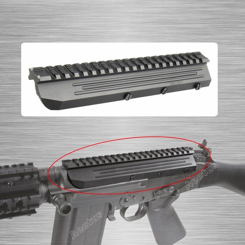 El Grupo Táctico Sa58 FN FAL alcance montaje riel Picatinny de aluminio de perfil bajo para FN FAL Rifle serie Mnt-981 M8593 completa de Metal CNC hecho