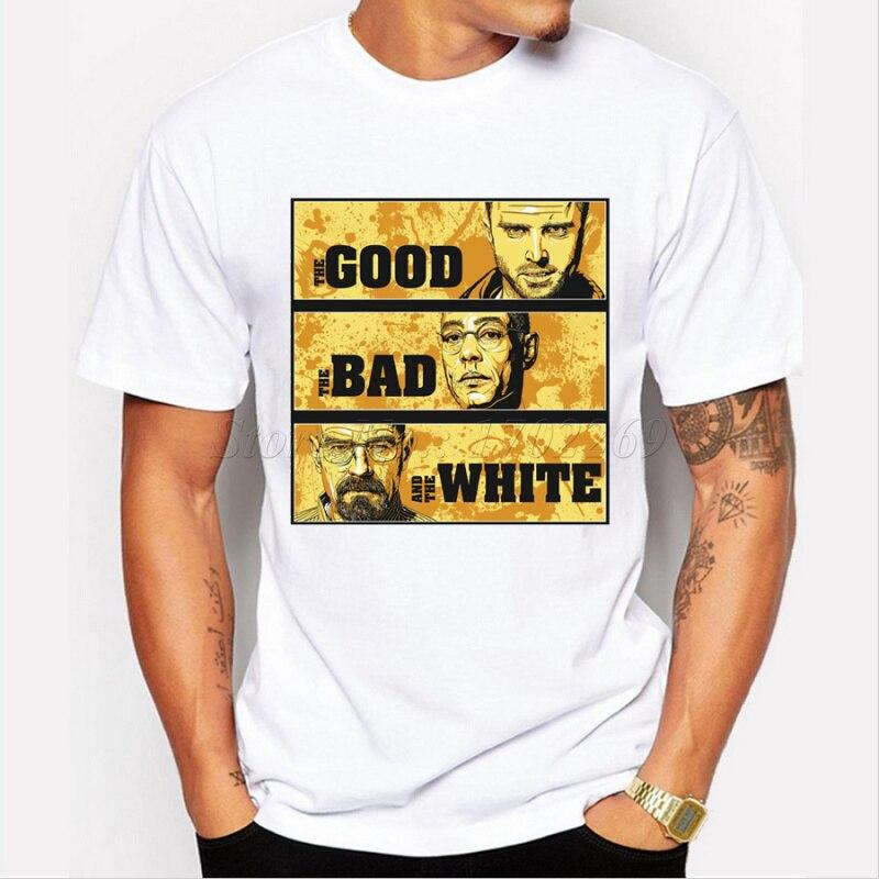 Camiseta de Breaking bad para hombre, de manga corta, de manga corta, hipster, divertido, fresco camisetas
