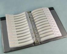 Kit de résistance cms   2625 2512 0R-10M ohm, Kit de résistance cms série RC2512 5%, Kit déchantillon de livre déchantillon, fusible de pièces