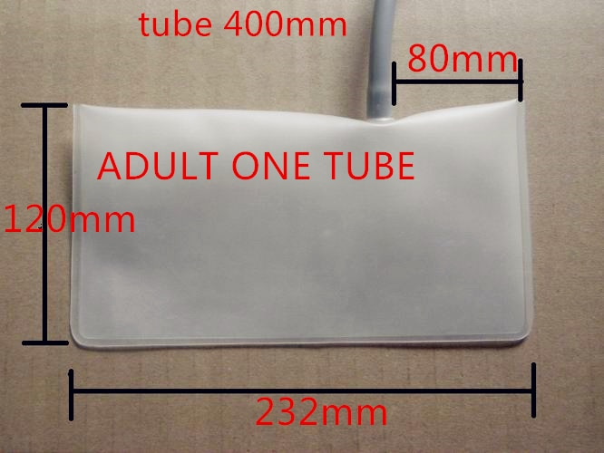 Blood pressure cuff (bladder) Material: high quality TPU. one tube,Specification: 235mm*125mm (left or right)