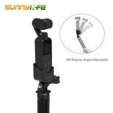 SUNNYLIFE 1/4 pouces adaptateur dextension support de montage support pour DJI Osmo poche Moun adaptateur Gopro 2 3 4 caméra de sport Gadgets