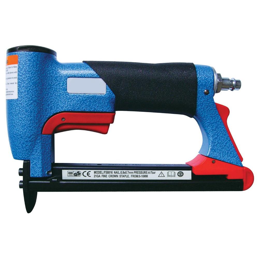 Grapadora de aire neumática, clavadora de aire para uñas tipo U de 4-16mm, pistola grapadora de aire tipo BEA, clavadora de Gas, herramienta profesional para carpintería