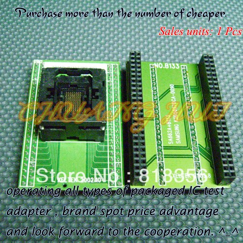 SA642V-B133-T096F001Y Programmer Adapter UBGA96/D96 BGA96 Xeltek Programmer Adapter Pitch=0.8mm