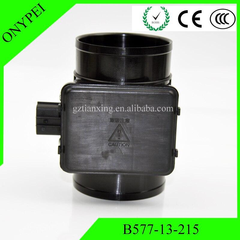 B57713215 sensor de flujo de Air masivo para Mazda 626 MX-6 Ford sonda E5T51071 B57713215 B577-13-215