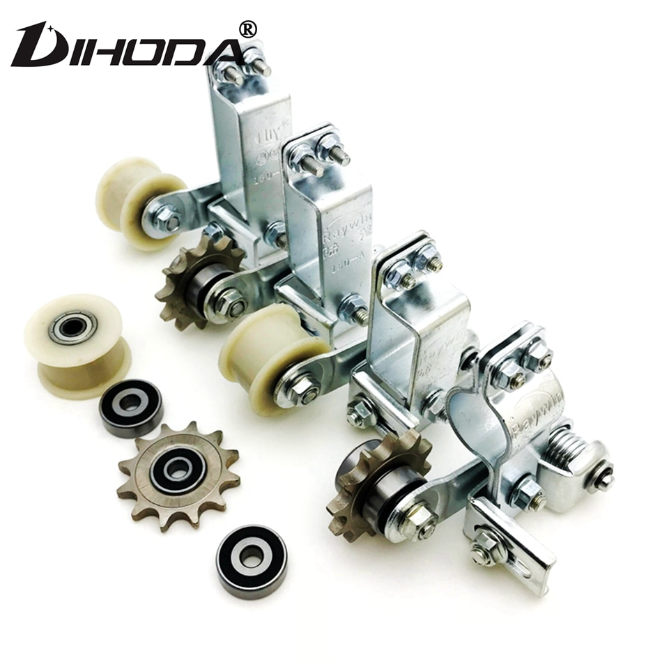 Engrenagem universal/plástico roda motocicleta tensor de corrente parafuso no rolo de corrente ajustador automático motocross reequipamento corrida