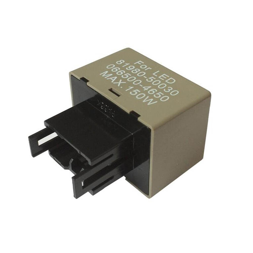 Relé de Flash LED para coche 12V DC 8 pines 81980-50030 066500-4650 150W intermitente de coche 90 veces por minuto