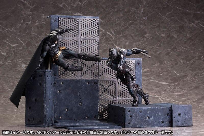 Juguetes locos Batman Arkham Knight figura de acción lucha Ver. Juguete de modelos coleccionables 14 cm-18 cm