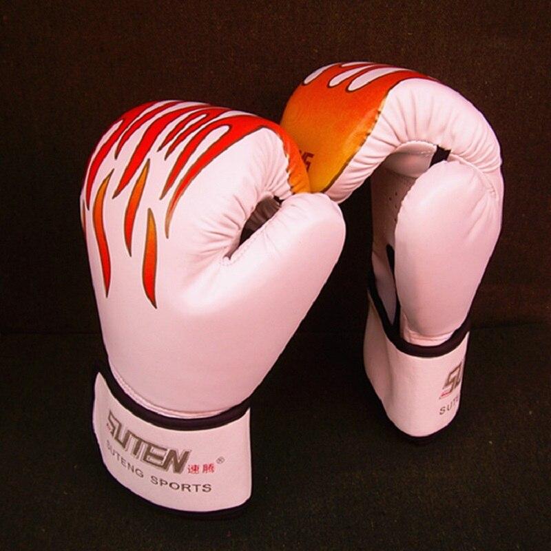 Homens e mulheres luvas de boxe kickboxing kickboxing gêmeos luta pu muay thai caixa de luvas de karate thai mma mitt1pairs
