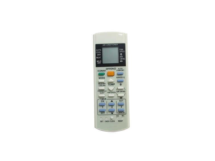 Remote Control For Panasonic CS-E21PKR CS-E24PKR CS-E28PKR CWA75C2610 CS-E15DTEW CS-E18DTEW CS-E21DTES AC A/C Air Conditioner
