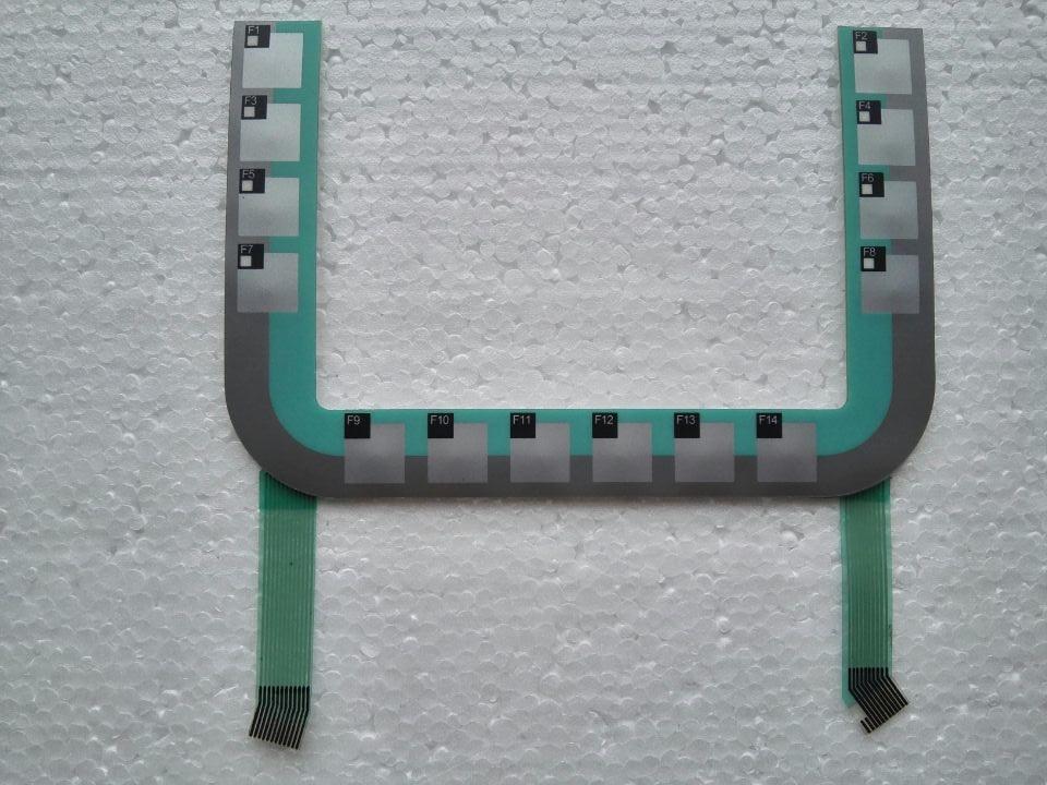 6AV6645-0BB01-0AX0 177 PN لوحة مفاتيح غشائية لإصلاح لوحة HMI ~ افعلها بنفسك ، جديدة وأصلية في المخزون