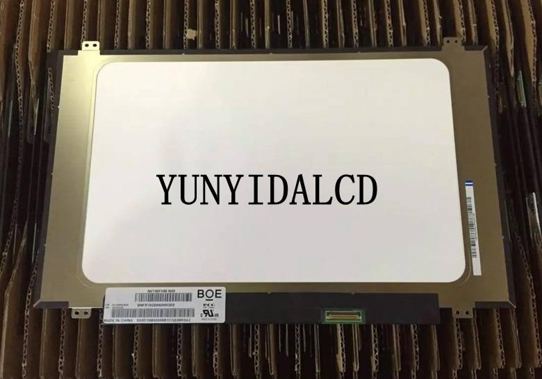 "Para Boe NV140FHM-N49 NV140FHM N49 L enovo fru 5D10M42868 mate pantalla LED FHD 1080 P IPS eDP 30 pines panel de ordenador portátil de 14,0"""