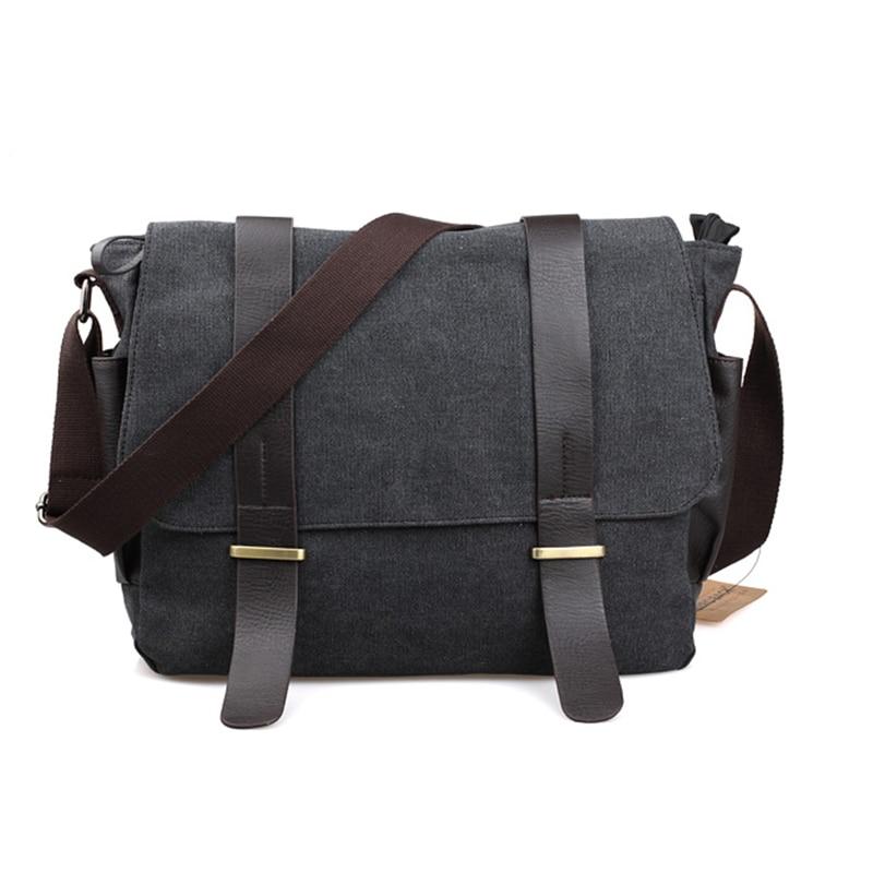 2021 Male shoulder bag Korean Style man travel crossbody leisure handbags Messenger bag canvas college student messenger bags