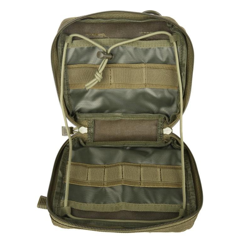 צבאי MOLLE Admin פאוץ טקטי רב רפואי ערכת תיק שירות כלי חגורת EDC פאוץ לקמפינג טיולי ציד 2018
