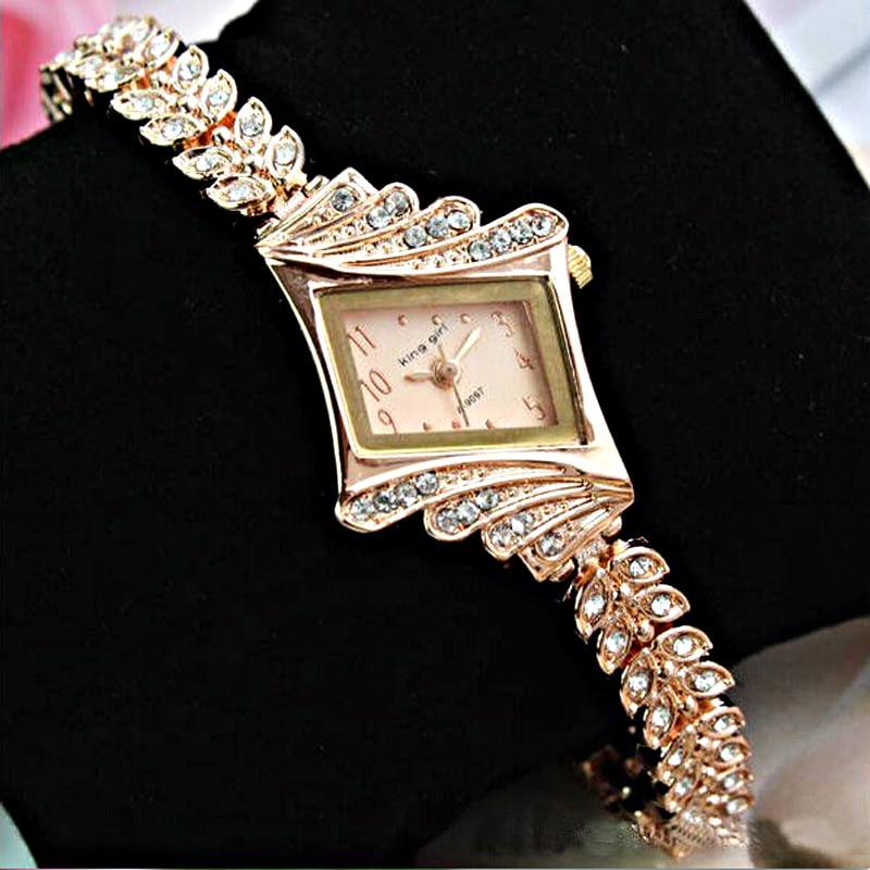 Women Watch Crystal Watch Ladies Watches Top Brand Luxury Rose Gold Watches Women Bracelet Watch Cheap Watch relojes mujer 2020